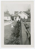 view Photograph of the private tennis court at Dr. Eaton's house digital asset number 1