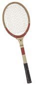 view Tennis racket used by Althea Gibson digital asset number 1