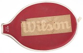 view Tennis racket cover used by Althea Gibson digital asset number 1