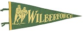 view Pennant for Wilberforce University football digital asset number 1