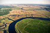view Scanned aerial photograph taken near the Harriet Tubman bridge digital asset number 1