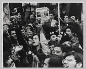 view Photograph of a Young Lords Party Rally at Queens County Jail digital asset number 1