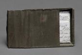 view Freedom papers and handmade tin carrying box belonging to Joseph Trammell digital asset number 1