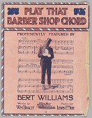 view <I>Play That Barber Shop Chord</I> digital asset number 1