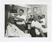 view Photographic print of Johnny Gator's barbershop digital asset number 1