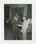 view Photographic print of Jackie Robinson and Harry Owens digital asset number 1