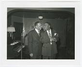 view Photographic print of Lionel Hampton and Bill Nunn digital asset number 1