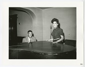 view Photographic print of Eroll Garner and unknown woman at a piano digital asset number 1