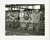 view Photographic print of spectators at Forbes Field digital asset number 1