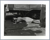 view Photographic print of Gladys Thornton injured by a streetcar digital asset number 1