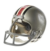 view Ohio State Buckeyes football helmet worn by Archie Griffin digital asset number 1