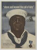 view Recruitment poster featuring Navy Cross recipient Dorie Miller digital asset number 1