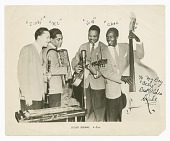 """view Photograph of the Scoby Browne Quartet autographed by """"Duke"""" digital asset number 1"""