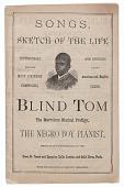view <I>Songs, Sketch of the Life of Blind Tom</I> digital asset number 1