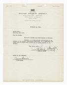 "view Contract between Count Basie and Richard Wright regarding ""King Joe"" digital asset number 1"