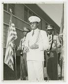 view Photograph of St. Augustine High School band leader Edwin Harrell Hampton digital asset number 1
