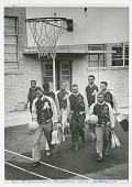 view Photograph of the St. Augustine High School basketball team digital asset number 1