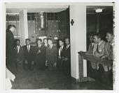 view Photograph of Josephite priest Phil Berrigan performing a sodalist communion digital asset number 1