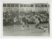 view Photograph of a basketball game at St. Augustine High School digital asset number 1