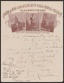 view Letter from and photomechanical print of Rev. John B. Randolph digital asset number 1
