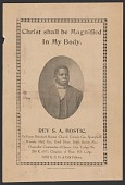 view Advertisement card for Rev. S. A. Bostic digital asset number 1