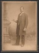 view Photograph of Rev. John B. Randolph and a church event program digital asset number 1
