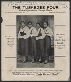 view Advertisement card for the Tuskegee Four digital asset number 1