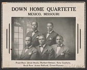 view Advertisement card for the Down Home Quartette digital asset number 1