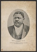 view Advertisement card for Rev. Isaac Toliver digital asset number 1