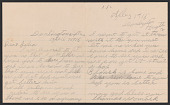 view Letter from Thomas Womack to Julia Womack with envelope digital asset number 1