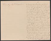 view Letter written by Nelson Jordan Jr. and Nelson Jordan to Julia Womack digital asset number 1