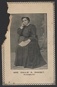 view Advertisement card for Mrs. Sallie A. Ramsey digital asset number 1