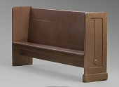 view Church pew from the Twelfth Baptist Church of Boston digital asset number 1