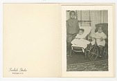 view Photographic print of three small children digital asset number 1