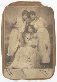 view Photographic print of Harper Franklin, Beatrice Coleman and Beatrice Dedman digital asset number 1