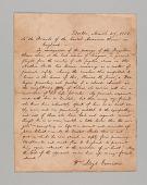 view Letter written by William Lloyd Garrison digital asset number 1