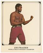 view Color card photograph of Joe Frazier digital asset number 1