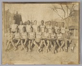 view Photograph of the 1929 Tuskegee Institute men's basketball team digital asset number 1