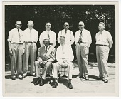 view Photograph of the senior officers of the Atlanta Life Insurance Company digital asset number 1