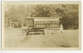 view Photograph of a Guilford County school bus and school children digital asset number 1
