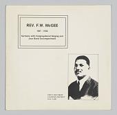 view <I>Rev. F. W. McGee (1927-1930)</I> digital asset number 1