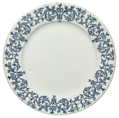 view Ceramic plate from Wormley & Son catering service digital asset number 1
