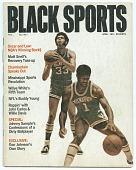 view <I>Black Sports Magazine, Vol. 1, No. 1</I> digital asset number 1