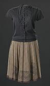view Costume worn by Beyoncé as Deena Jones in the film Dreamgirls digital asset number 1