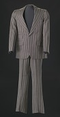 view Brown pin-striped suit worn by Sammy Davis Jr. digital asset number 1