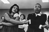 view <I>Coretta Scott King and Dr. Martin Luther King, Jr., Freedom Singing, SCLC Convention</I> digital asset number 1