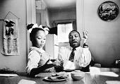 view <I>Dr. Martin Luther King, Jr., and Yolanda King</I> digital asset number 1
