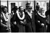 view <I>Rev. Ralph Abernathy, Dr. Martin Luther King, Jr., Dr. Ralph Bunche, and Rabbi Abraham Heschel, Selma to Montgomery March</I> digital asset number 1
