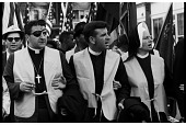 view <I>Rev. Dominic Orsini, Rev. Arthur Matott, and Sister Mary Leoline Entering Montgomery</I> digital asset number 1