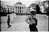 view <I>Military Police and State Troopers Guarding the Alabama State Capitol</I> digital asset number 1